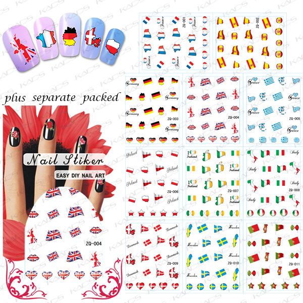 2015NEW 20PCS LOT ZQ001 022 edition of the World Cup The World Cup flag character post