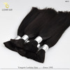 YBY Wholesale Remy TOP quality wet and wavy bulk hair
