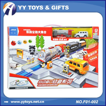 f01 002 parking car track toy car setkids electric toy race track
