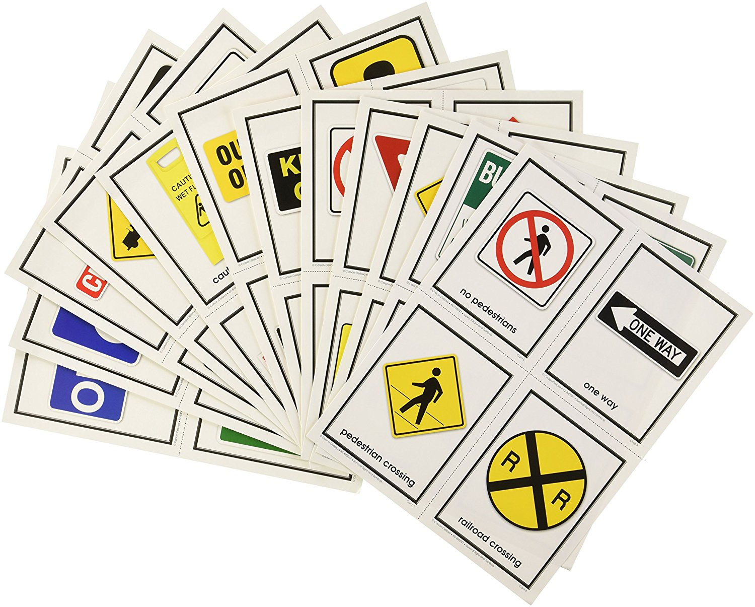 Buy Survival Signs And Symbols Learning Cards In Cheap Price On