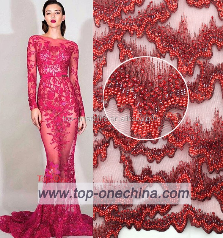a6bc73b01a Embroidery Bridal Wedding 3d Lace Fabric Offwhite Luxury Fabric ...