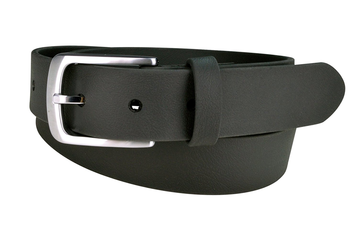 Recycled Dress Belt TILIKUM black, 36 Vegan Belts for Men Truth Belt