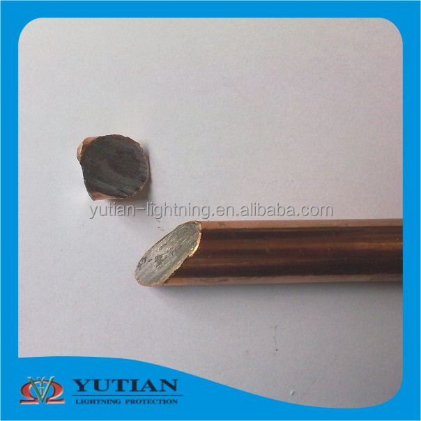 lightning protection system best price copper clad steel copper earth rod