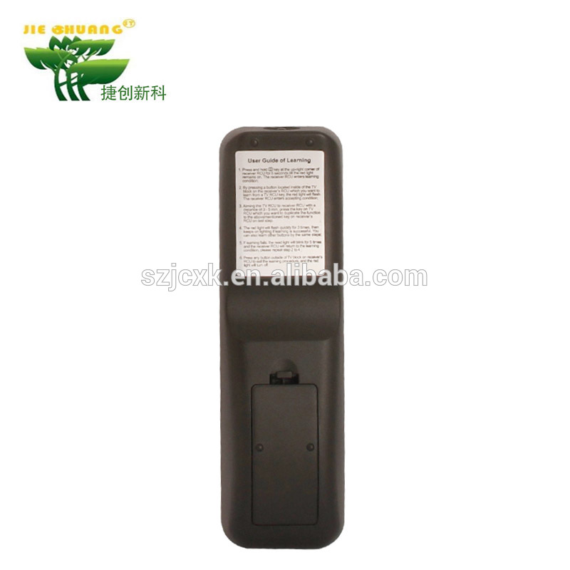 Factory directly sell ABS and rubber MaterialBlack or white Standard voltage 3V smart infrared remote
