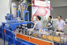 SHJ-65 PE/PP powder/granule + caco3 parallel co-rotating masterbatch extruder