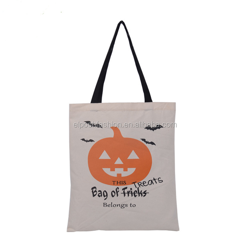 Latest Custom Personalized Christmas Halloween Canvas Bag