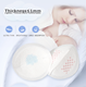 Printed 3d oval Sap material breast pad hot china products wholesale mother chest milk breast pads