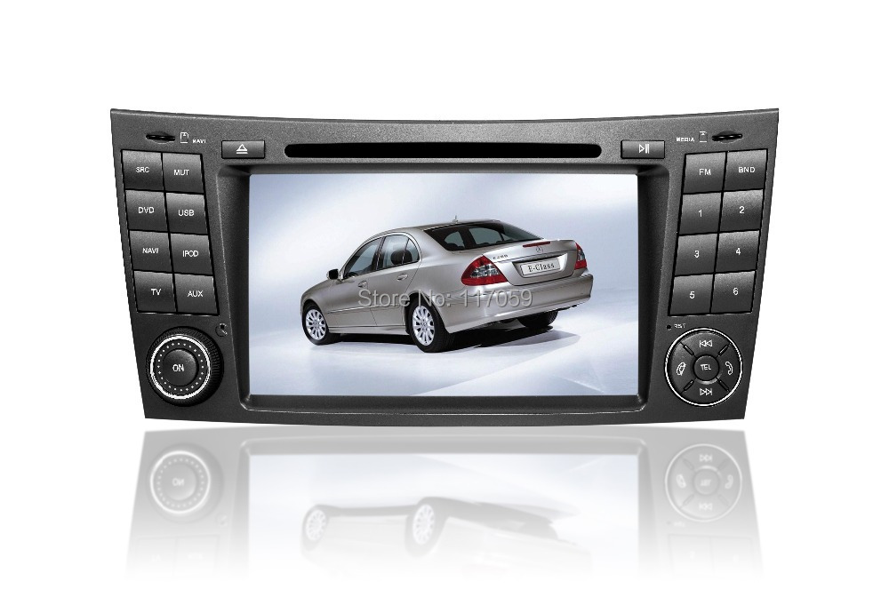 acheter 2 din lecteur dvd de voiture 7 gps navigation pour mercedes benz. Black Bedroom Furniture Sets. Home Design Ideas