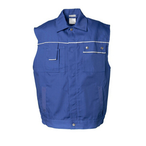 OEM Multi Pockets Post Office Work Vest Blue