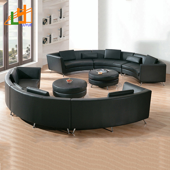 Hot Sale Fashion Design Wooden Frame 6 Seater Sofa Set C Shaped Curved  Genuine Leather Modern Sectional Sofa - Buy Modern Sectional Sofa,Sectional  ...