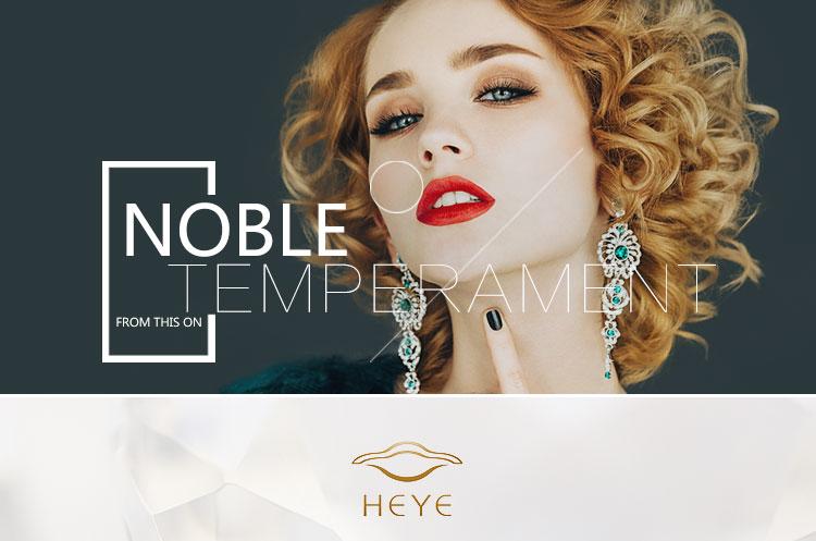 YR1199 Heye 18 Karaat Wit Goud Diamanten Ring Hotsale Cz Inlay Luxe Engagement Sieraden Factory Custom