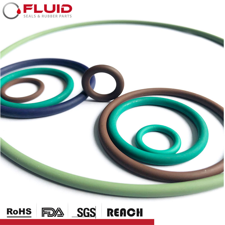 O-Ring FKM Dichtungen cs 1,78 2,62 3,53 5,33 6,99 AS568 Gummi O ring