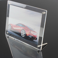 Good quality acrylic frame acrylic tent card holder display type table tent