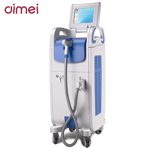 DIMYTH 10.4 INCH touch screen 16*16mm big spotsize sapphire epidermis diode laser hair removal machine 808 nm