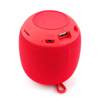 Wholesale 2019 Portable Mini Wireless Round High Quality AUX Bluetooth Speaker