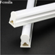 Led lamp t5 integrated three-color variable light two-color dimming fluorescent tube factory engineering energy-saving bracket f