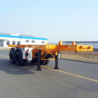 Ts16949 [ Chassis Axles ] 13 Ton Fuwa Brand 150x150 2/3 Units 20 Feet Container Chassis 2 Axles Shipping Container Trailer