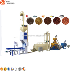 Full completely automatic fish,pet ,dog feed pellet production line