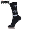 Weed Style Customized Cotton Compression Sports Socks Buyer From USA