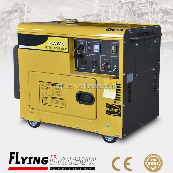 open/silent type cheap price air cooled 10kw portable diesel generator with reliable quality