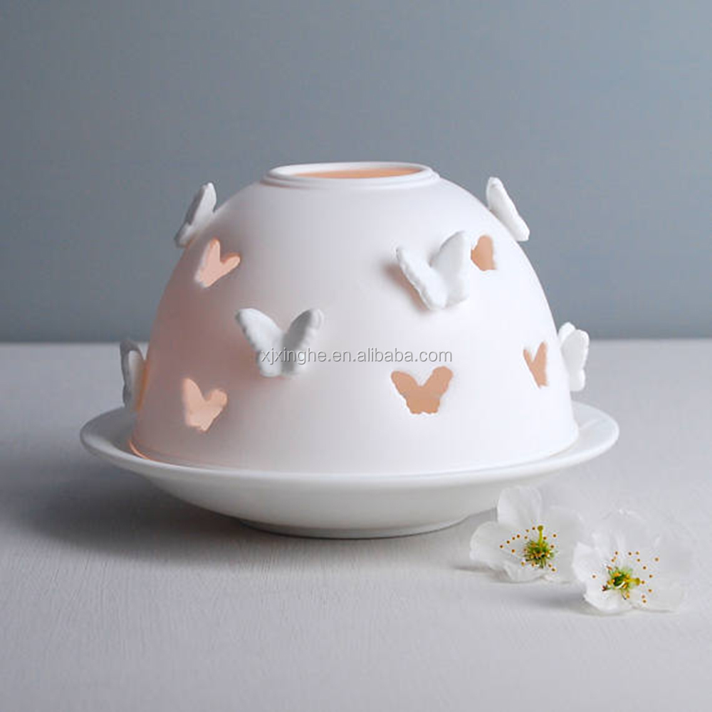 Beautiful Butterfly Shaped Votive Candle Holders For Girlfriend Gift