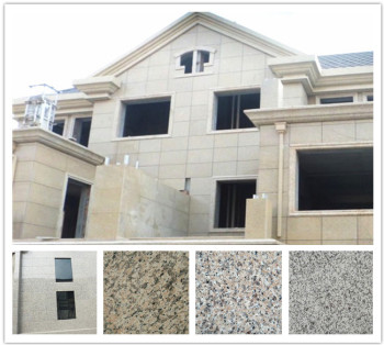hot quarry stone natural color block flag slabs cube granite Color High Quality exterior wall for sale