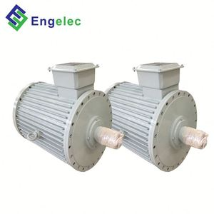 50kW 350rpm free energy permanent magnet generator , low speed long lifespan alternator