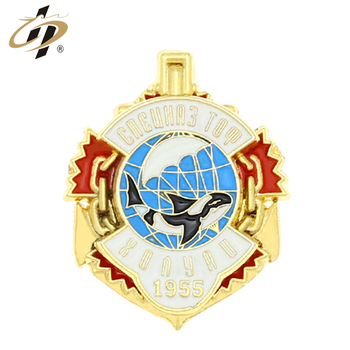 Cheap high quality bulk metal souvenir enamel name badges with logo