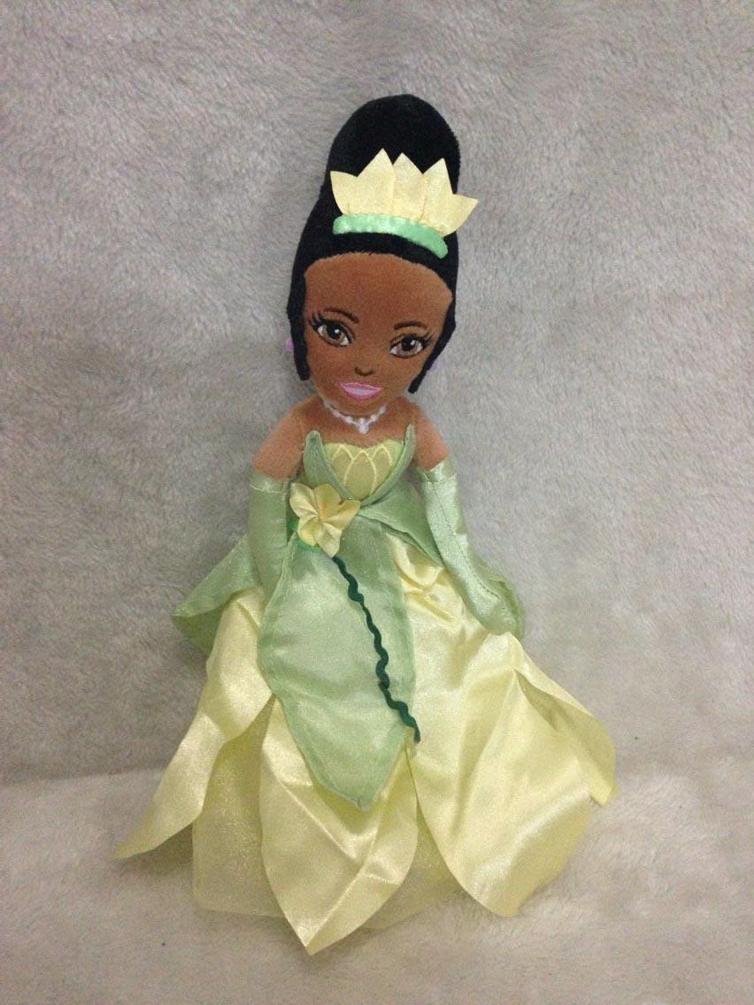 Original The Princess and the Frog Princess Tiana Plush ...