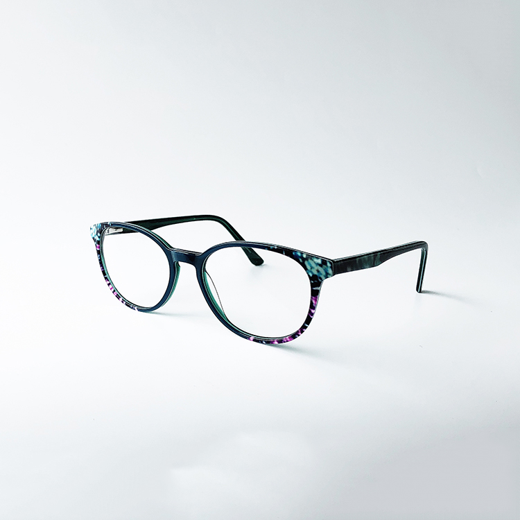 oem cheap price high quality new style custom logo acetate optical frame, 8 colors available