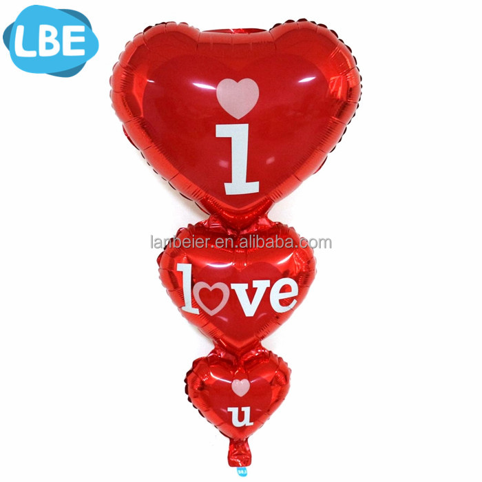 Helium Balloon Love Foil Balloon Wedding Party Decoration