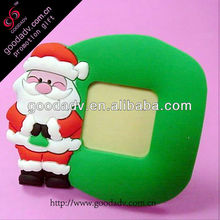 Heart shape pvc photo frame,2012 best-selling picture 3D rubber frame