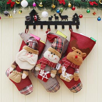 large christmas stockings santa pants gift bags - Large Christmas Stocking