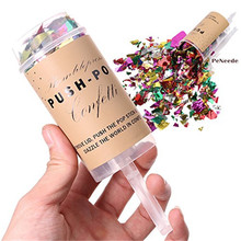 Nieuwe collectie Hoge Kwaliteit Party confetti spuiten Confetti Party Popper Push Pop Confetti voor Party