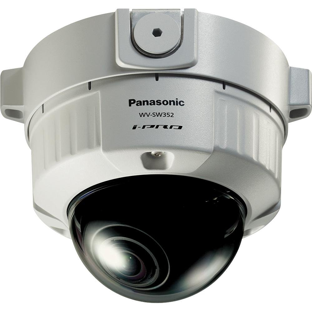 Panasonic WVSW352 Super Dynamic Vandal Resistant Fixed Dome Network Camera