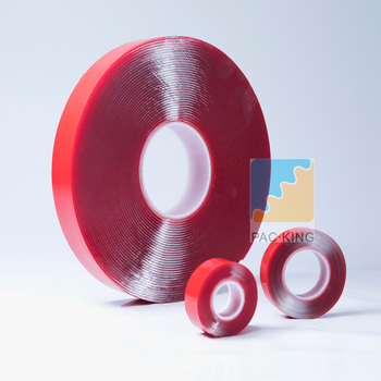 Red Color Double Sided Adhesive Tape/Acrylic Foam Tape