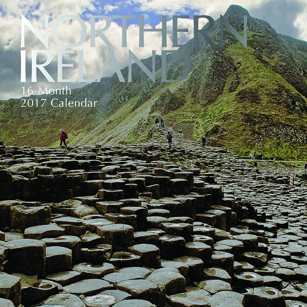 """Beautiful Scenic Photographs of Northern Ireland 2017 Monthly Wall Calendar, 12"""" x 12"""""""