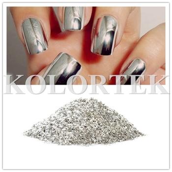 Metallic Silver Nail Polish Silver Flakes Hot Selling Pigments - Buy ...