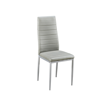 Stupendous Modern Factory Cheap Price Faux Leather Steel Painting Legs Dining Chair Buy Modern Factory Cheap Price Faux Leather Dining Chair Modern Faux Pabps2019 Chair Design Images Pabps2019Com
