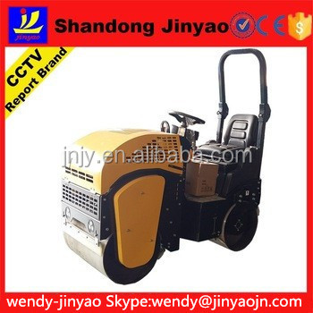 with radiator and oil cooler! convertible ride-on road roller, cost-effective road roller, earthmoving road roller