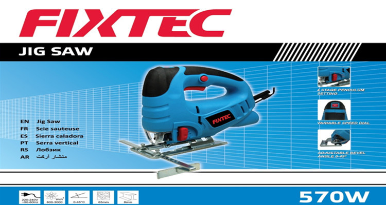 FIXTEC 570W Woodworking Jig Saw