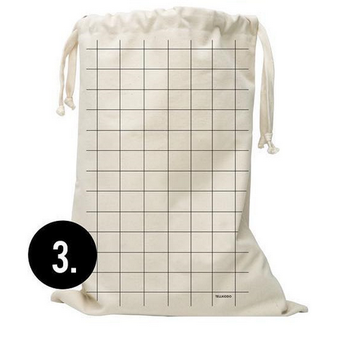 hotel household essentials extra large organic cotton laundry bag