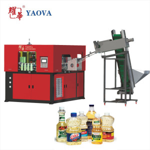Fully Automatic Plastic Bottle Blow Molding Machine For Making Pet Cooking Oil Bottle