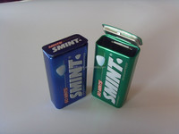 Small mint tin, candy tin, colorful printing small tin containers
