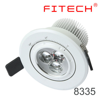 7w Ce Focusable Replacing 3'' Gimbal Led Downlight 230v For Art ...