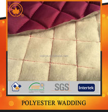 High quality single sided pre quilted fabric