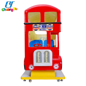 Amusement Coin Operated Electric Unblocked Kids Video Games Bus Kiddie Ride