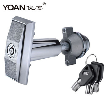 Hot quality Model 1304 t-handle lock with slot machine keys for vending machine