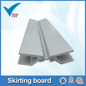 Aluminum skirting board plastic plinth VT-06.008