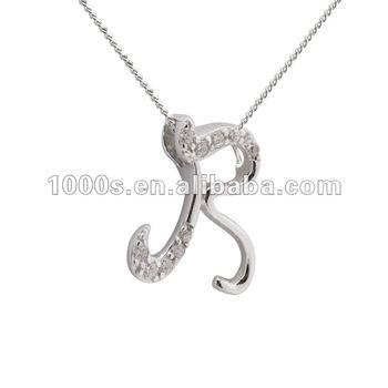 925 silver letter r pendant necklace jewelry buy fashion letter r 925 silver letter r pendant necklace jewelry aloadofball Gallery